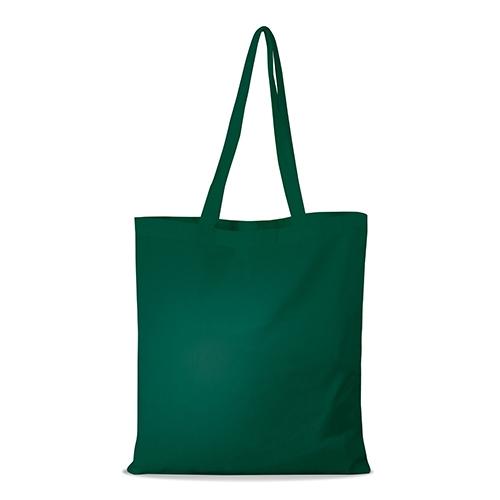 shopper bag in cotone personalizzata stampata alterego economica verde