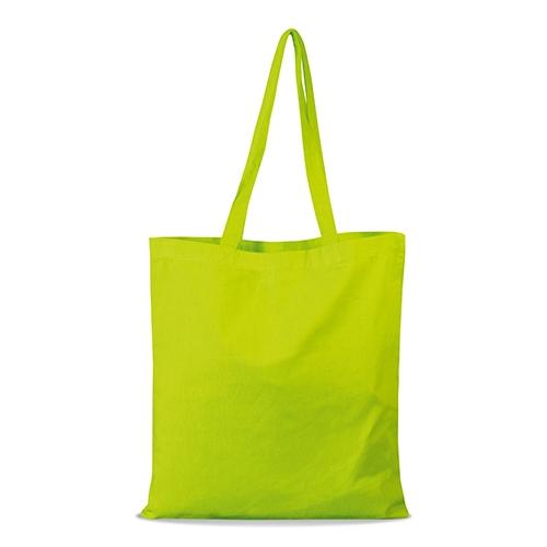 shopper bag in cotone personalizzata stampata alterego economica lime