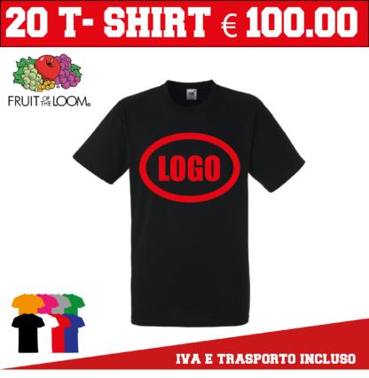 magliette personalizzate offerta