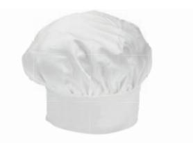 cappello toque cuoco chef giblor s