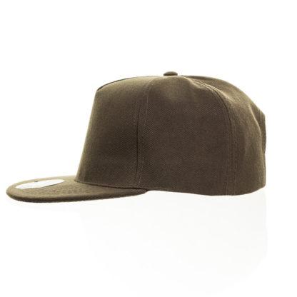 Cappello Atlantis Snap five visiera piatta personalizzato stampato ricamato alterego hip pop verde militare