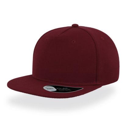 Cappello Atlantis Snap five visiera piatta personalizzato stampato ricamato alterego hip pop bordo