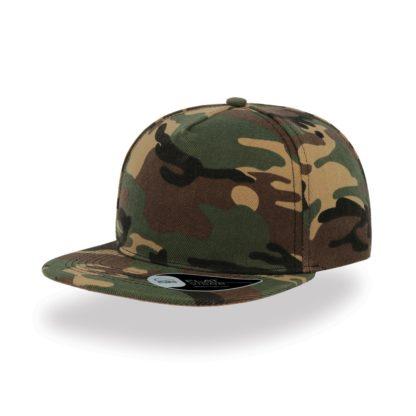 Cappello Atlantis Snap five visiera piatta personalizzato stampato ricamato alterego hip pop mimetico