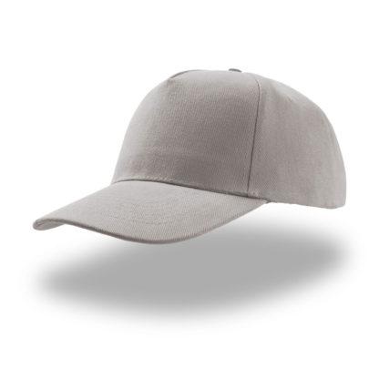 cappellino grigio atlantis 5 pannelli liberty five personalizzato stampato ricamato alterego
