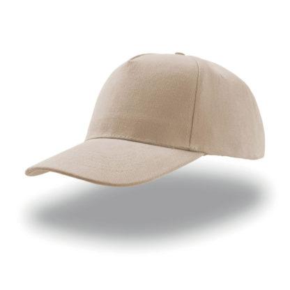 cappellino beige atlantis 5 pannelli liberty five personalizzato stampato ricamato alterego