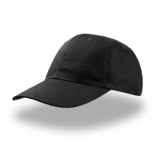 cappelo nero liberty six personalizzato atlantis alterego stampato ricamato