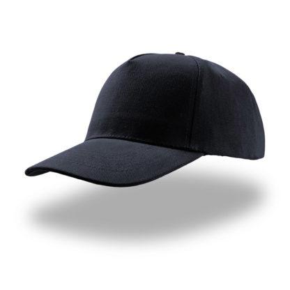 cappellino blu navy atlantis 5 pannelli liberty five personalizzato stampato ricamato alterego