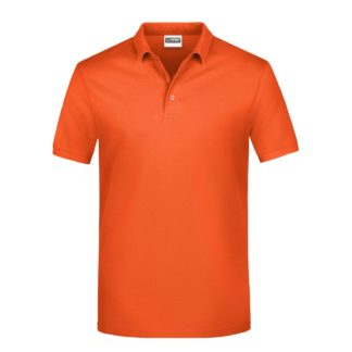 polo uomo arancione stampa ricamo personalizzata economica