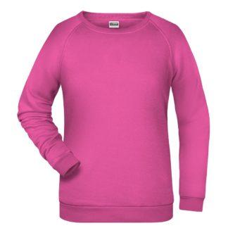 felpa girocollo donna femminile personalizzata stampata ricamata alterego rosa