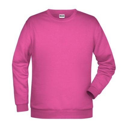 Felpa girocollo unisex stampata ricamata personalizzata alterego rosa