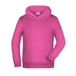 felpa cappuccio bambino personalizzata ricamata stampata alterego rosa