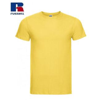 t-shirt maglietta russell manica corta personalizzata alterego maglietta gialla