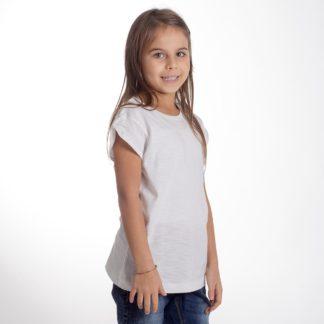 t-shirt cotone fiammato fashon personaizzata stampata alterego bambina