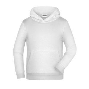 felpa cappuccio bambino personalizzata ricamata stampata alterego bianca