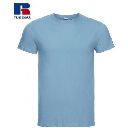 t-shirt maglietta russell manica corta personalizzata alterego maglietta celeste