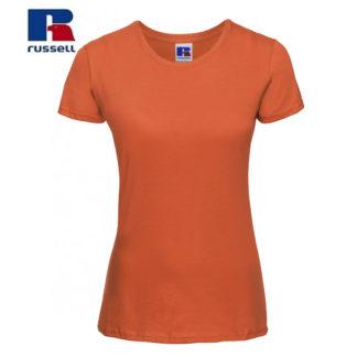 t-shirt maglietta russell femminile donna manica corta personalizzata alterego maglietta arancione