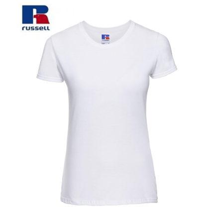 t-shirt maglietta russell femminile donna manica corta personalizzata alterego maglietta bianca