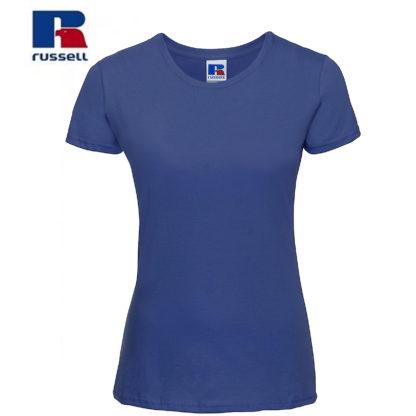 t-shirt maglietta russell femminile donna manica corta personalizzata alterego maglietta blu royal