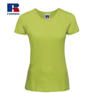 t-shirt maglietta russell femminile donna manica corta personalizzata alterego maglietta lime