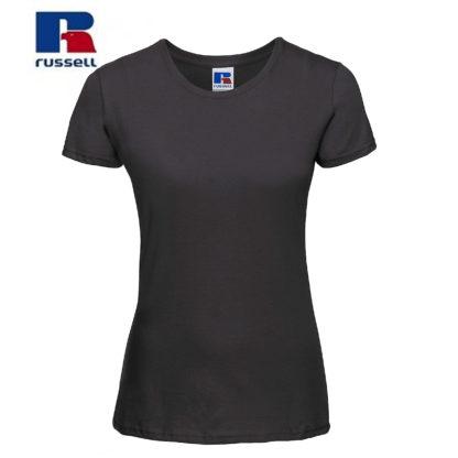 t-shirt maglietta russell femminile donna manica corta personalizzata alterego maglietta nera