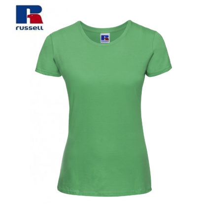 t-shirt maglietta russell femminile donna manica corta personalizzata alterego maglietta verde