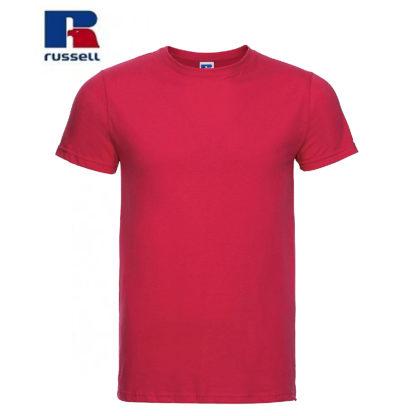 t-shirt maglietta russell manica corta personalizzata alterego maglietta rossa