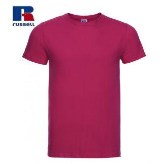t-shirt maglietta russell manica corta personalizzata alterego maglietta fuchsia fuxia