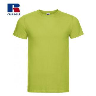 t-shirt maglietta russell manica corta personalizzata alterego maglietta lime