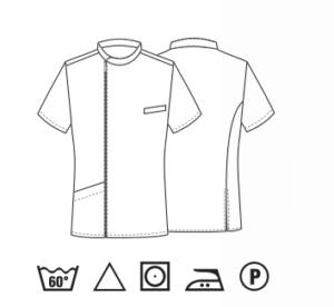 abbigliamento da lavoro bianco