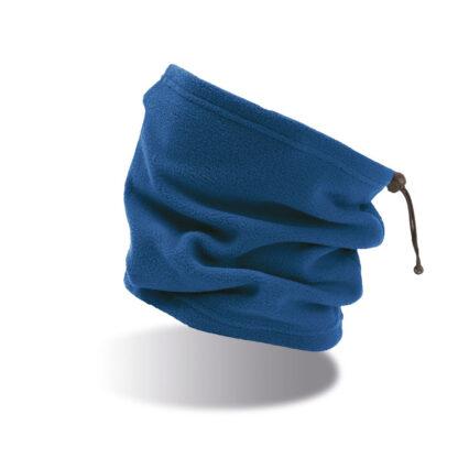 scaldacollo con ricamo personalizzato blu royal