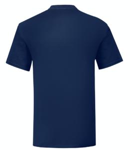 t-shirt maglietta fruit of the loom iconic personalizzata ingrosso rivenditori fornitori alterego custom shop blu navy