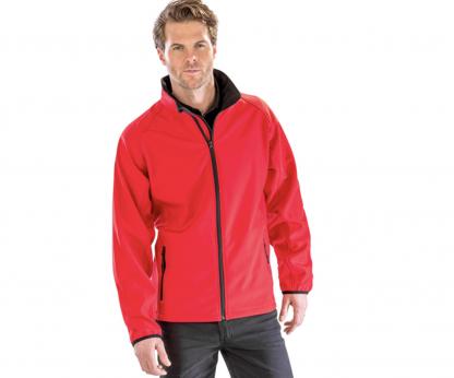 giacca softshell rossa personalizzabile