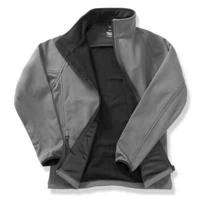 giacca softshell grigio personalizzabile