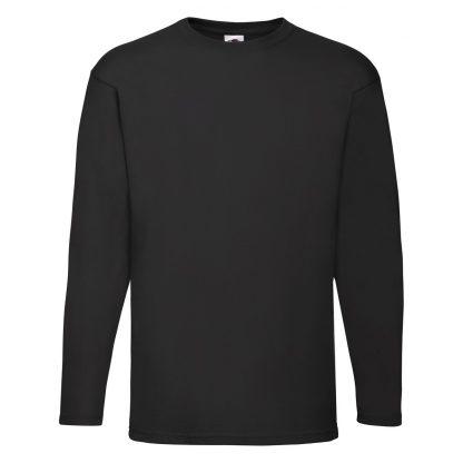 tshirt maniche lunghe nera