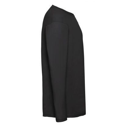 tshirt nera maniche lunghe