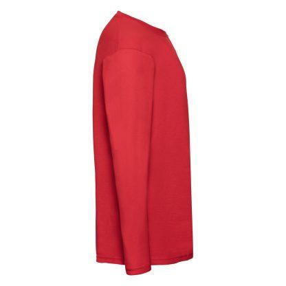 tshirt rossa maniche lunghe