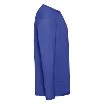 tshirt manica lunga blu royal