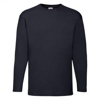 tshirt blu scuro navy maniche lunghe