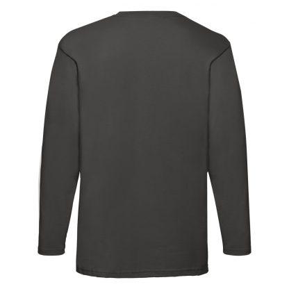 tshirt maniche lunghe grafite grigio scuro