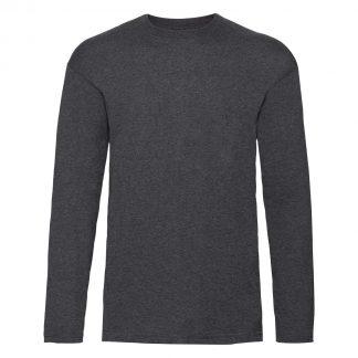 tshirt manica lunga grigio