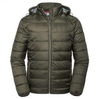 giacca invernale russel personalizzabile con logo