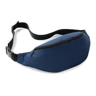 marsupio blu navy personalizzabile bagbase