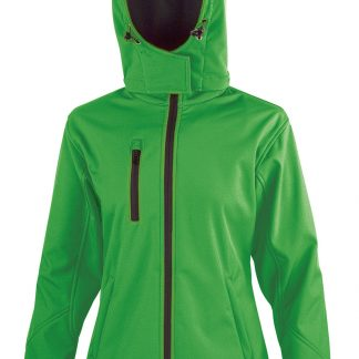 giacca softshell donna verde