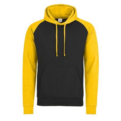 felpa giallo nero