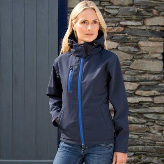 giacca donna softshell blu